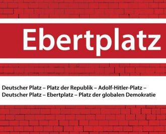 """Verkündung: """"Platz der globalen Demokratie"""""""